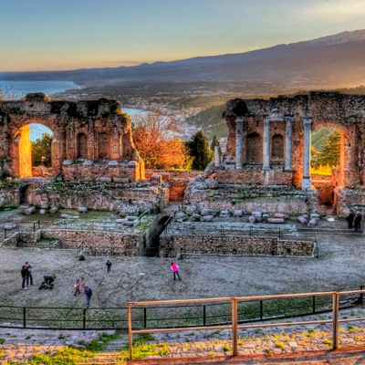 Wonderful Taormina ancient theatre