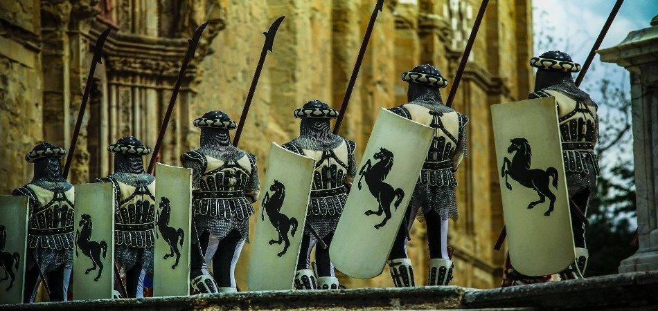 Arezzo fanti Giostra Saracino