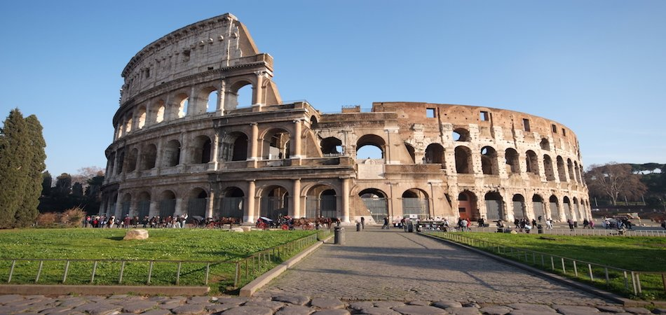 Escorted package tours rome